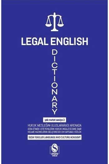 Spesifik Yayınları - Spesifik Yayınları Legal English Dictionary