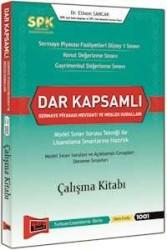 Yargı Yayınevi - SPK Dar Kapsamlı Sermaye Piyasası Mevzuatı ve Meslek Kuralları Çalışma Kitabı Yargı Yayınları