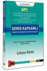 Yargı Yayınevi - SPK Geniş Kapsamlı Sermaye Piyasası Mevzuatı ve Meslek Kuralları Çalışma Kitabı Yargı Yayınları