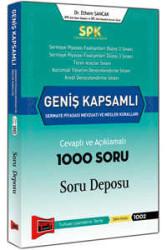 Yargı Yayınevi - SPK Geniş Kapsamlı Sermaye Piyasası Mevzuatı ve Meslek Kuralları Cevaplı ve Açıklamalı 1000 Soru Deposu Yargı Yayınları
