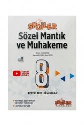 Spoiler Yayınları - Spoiler Yayınları 8. Sınıf Sözel Mantık ve Muhakeme Soru Bankası Spoiler Yayınları