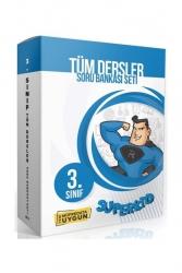 Süperkid Yayınları - Süperkid Yayınları 3. Sınıf Tüm Dersler Soru Bankası Seti