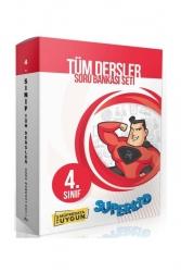 Süperkid Yayınları - Süperkid Yayınları 4. Sınıf Tüm Dersler Soru Bankası Seti