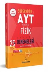 Süpervizör Yayınları - Süpervizör Yayınları Ayt Fizik 25 Li Deneme