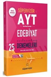 Süpervizör Yayınları - Süpervizör Yayınları YKS AYT Edebiyat 25 li Deneme