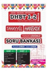 Tahayyül Yayınları - Tahayyül Yayınları 2021 DHBT 1 2 Hanzade Çözümlü Soru Bankası