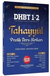 Tahayyül Yayınları - Tahayyül Yayınları 2021 DHBT 1 2 Pratik Ders Notları