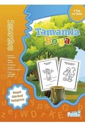 Mavi Panda Yayınları - Tamamla Boya 1 Başlangıç Mavi Panda Yayınları