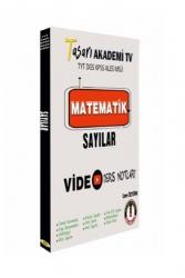 Tasarı Yayınları - Tasarı Eğitim Yayınları DGS ALES TYT Matematik Sayılar Video Ders Notları