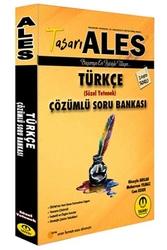 Tasarı Yayınları - Tasarı Yayınları 2020 ALES Türkçe Çözümlü Soru Bankası