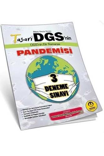 Tasarı Yayınları 2020 DGS'nin Pandemisi 3 Çözümlü Deneme