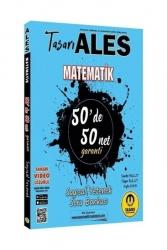 Tasarı Yayınları - Tasarı Yayınları 2021 ALES Matematik 50 de 50 Net Sayısal Yetenek Soru Bankası Video Çözümlü