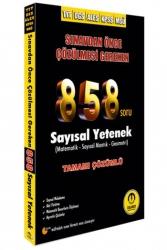 Tasarı Yayınları - Tasarı Yayınları 2021 TYT DGS ALES KPSS MSÜ 858 Matematik Çözümlü Soru Bankası