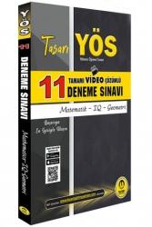 Tasarı Yayınları - Tasarı Yayınları 2021 YÖS Matematik IQ Geometri Video Çözümlü 11 Deneme