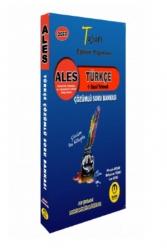 Tasarı Yayınları - Tasarı Yayınları 2022 ALES Türkçe Çözümlü Soru Bankası