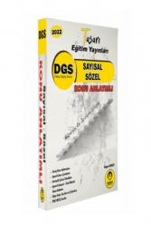 Tasarı Yayınları - Tasarı Yayınları 2022 DGS Matematik Türkçe Konu Anlatımı Tek Kitap