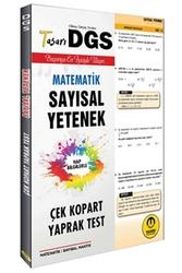 Tasarı Yayınları - Tasarı Yayınları DGS Sayısal Yetenek Çek Kopart Yaprak Test