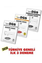 Tasarı Yayınları - Tasarı Yayınları DGS Türkiye Geneli İlk 3 Deneme 1. Seri