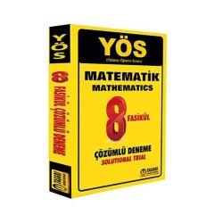 Tasarı Yayınları - Tasarı Yayınları YÖS Matematik 8 Fasikül Çözümlü Deneme