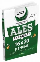 Tercih Akademi - Tercih Akademi 2022 ALES Paragraf Sözel Yetenek 16x20 Deneme