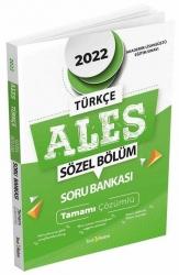 Tercih Akademi - Tercih Akademi 2022 ALES Tamamı Çözümlü Sözel Soru Bankası