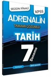 Tercih Akademi - Tercih Akademi Yayınları 2020 KPSS Adrenalin Tarih Tamamı Çözümlü 7 Deneme