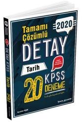 Tercih Akademi - Tercih Akademi Yayınları 2020 KPSS Detay Tarih Tamamı Çözümlü 20 Deneme
