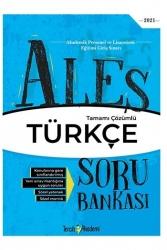 Tercih Akademi - Tercih Akademi Yayınları 2021 ALES Türkçe Tamamı Çözümlü Soru Bankası