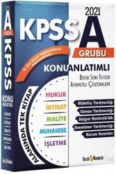Tercih Akademi - Tercih Akademi Yayınları 2021 KPSS A Grubu Konu Anlatımlı Tek Kitap