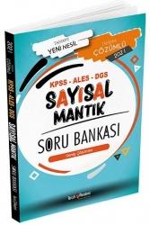 Tercih Akademi - Tercih Akademi Yayınları 2021 KPSS ALES DGS Sayısal Mantık Tamamı Çözümlü Soru Bankası