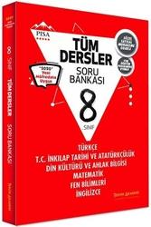 Tercih Akademi - Tercih Akademi Yayınları 8. Sınıf Tüm Dersler Soru Bankası