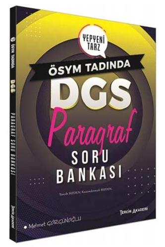 Tercih Akademi Yayınları DGS Paragraf Soru Bankası