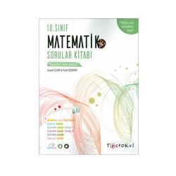 Test Okul Yayınları - Test Okul Yayınları 10.Sınıf Matematik Sorular Kitabı