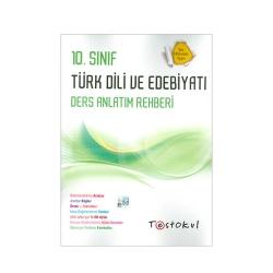Test Okul Yayınları - Test Okul Yayınları 10.Sınıf Türk Dili ve Edebiyatı Ders Anlatım Rehberi