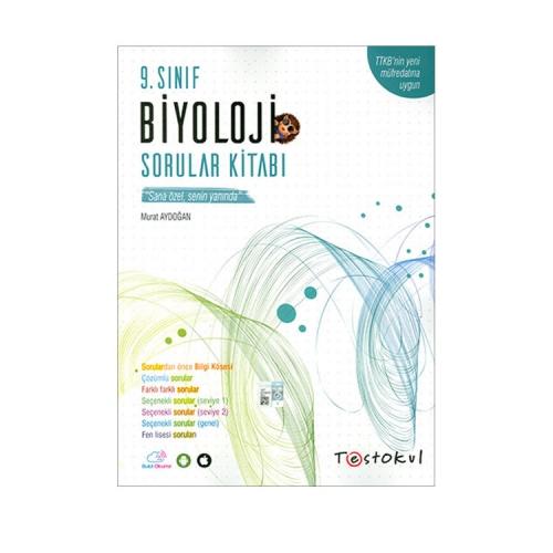 Test Okul Yayınları 9.Sınıf Biyoloji Sorular Kitabı