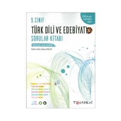 Test Okul Yayınları - Test Okul Yayınları 9.Sınıf Türk Dili ve Edebiyatı Sorular Kitabı