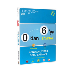 Tonguç Akademi - Tonguç Akademi 6. Sınıf 0 dan 6 ya Sayısal Konu Anlatımlı Soru Bankası