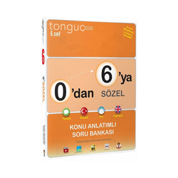 Tonguç Akademi - Tonguç Akademi 6. Sınıf 0 dan 6 ya Sözel Konu Anlatımlı Soru Bankası