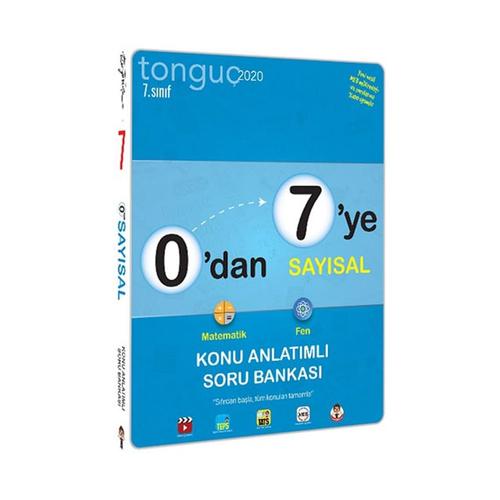 Tonguç Akademi 7. Sınıf 0 dan 7 ye Sayısal Konu Anlatımlı Soru Bankası