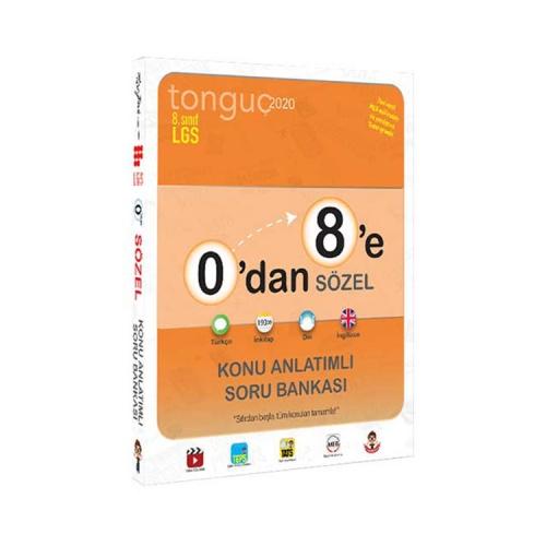 Tonguç Akademi 0'dan 8'e Sözel Konu Anlatımlı Soru Bankası
