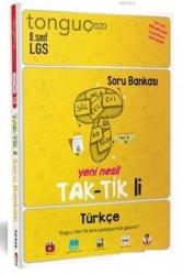 Tonguç Akademi - Tonguç Akademi 2020 LGS 8. Sınıf Türkçe Yeni Nesil Taktikli Soru Bankası