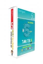 Tonguç Akademi - Tonguç Akademi 5. Sınıf Taktikli Tüm Dersler Soru Bankası Seti