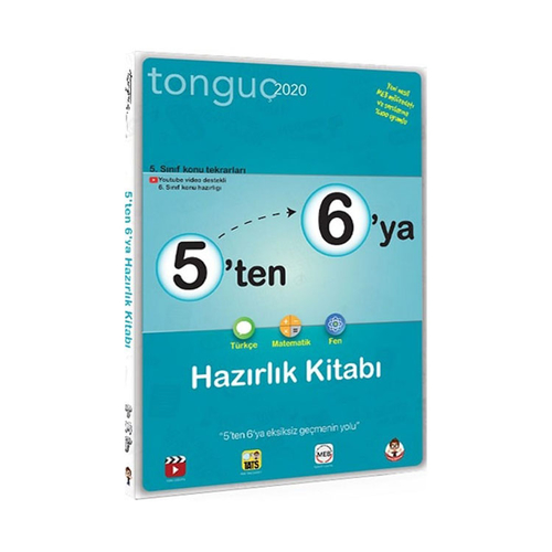Tonguç Akademi 5 ten 6 ya Hazırlık Kitabı