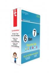Tonguç Akademi - Tonguç Akademi 6 dan 7 ye Hazırlık Seti Telafi Eğitim Ön Hazırlık