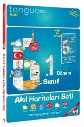 Tonguç Akademi - Tonguç Akademi 6. Sınıf 1. Dönem Akıl Haritaları Seti