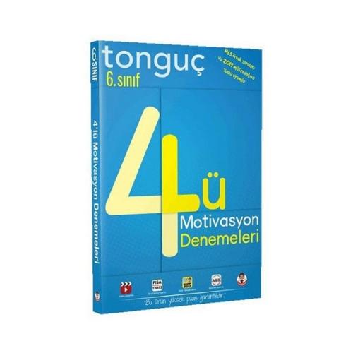 Tonguç Akademi 6. Sınıf 4 lü Motivasyon Denemeleri