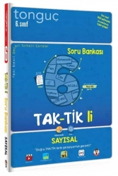 Tonguç Akademi - Tonguç Akademi 6. Sınıf Sayısal Taktikli Soru Bankası