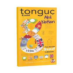 Tonguç Akademi - Tonguç Akademi 8. Sınıf 1. Dönem Akıl Notları