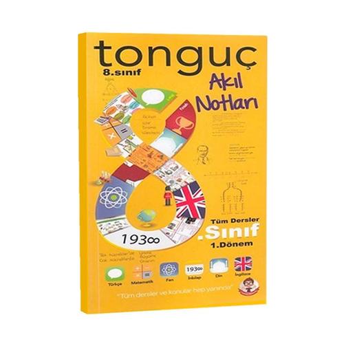 Tonguç Akademi 8. Sınıf 1. Dönem Akıl Notları