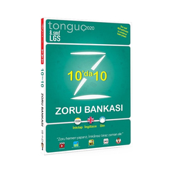 Tonguç Akademi - Tonguç Akademi 8. Sınıf LGS 10 da 10 Zoru Bankası